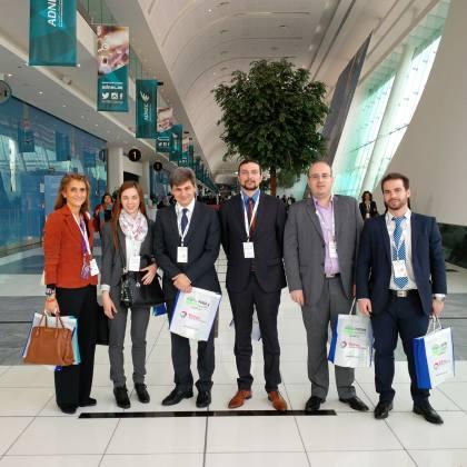 Συμμετοχή καθηγητών και φοιτητών του Προγράμματος στο World Future Energy Summit 2015, Abu Dhabi, 20-24 Ιανουαρίου 2-15