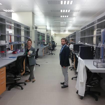 Φοιτητές του Προγράμματος στα εργαστήρια του New York University Abu Dhabi