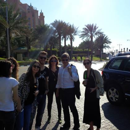 Επίσκεψη στο Palm Island Dubai UAE